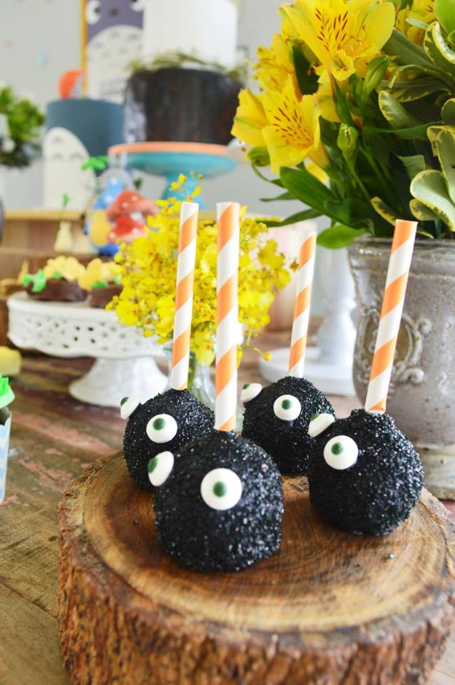 Colorful Totoro Birthday Party Birthday Party Ideas Amp Themes