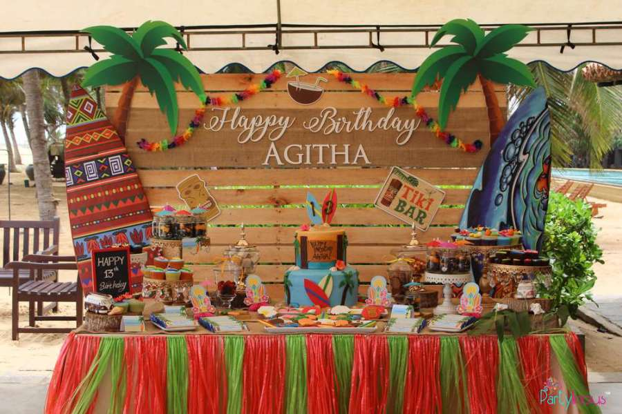 Tropical Summer Beach Party Birthday Party Ideas Amp Themes