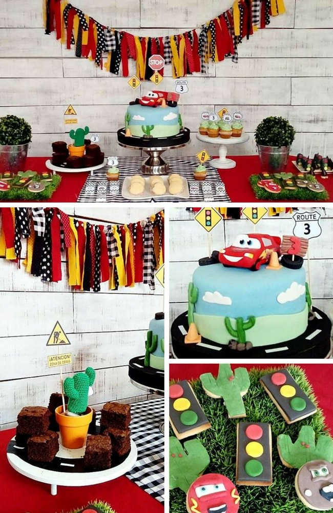 Cars And Trucks Party Inspiration Collection Birthday