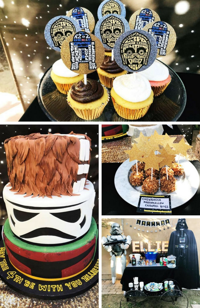 Star Wars Party Inspiration Birthday Party Ideas Amp Themes