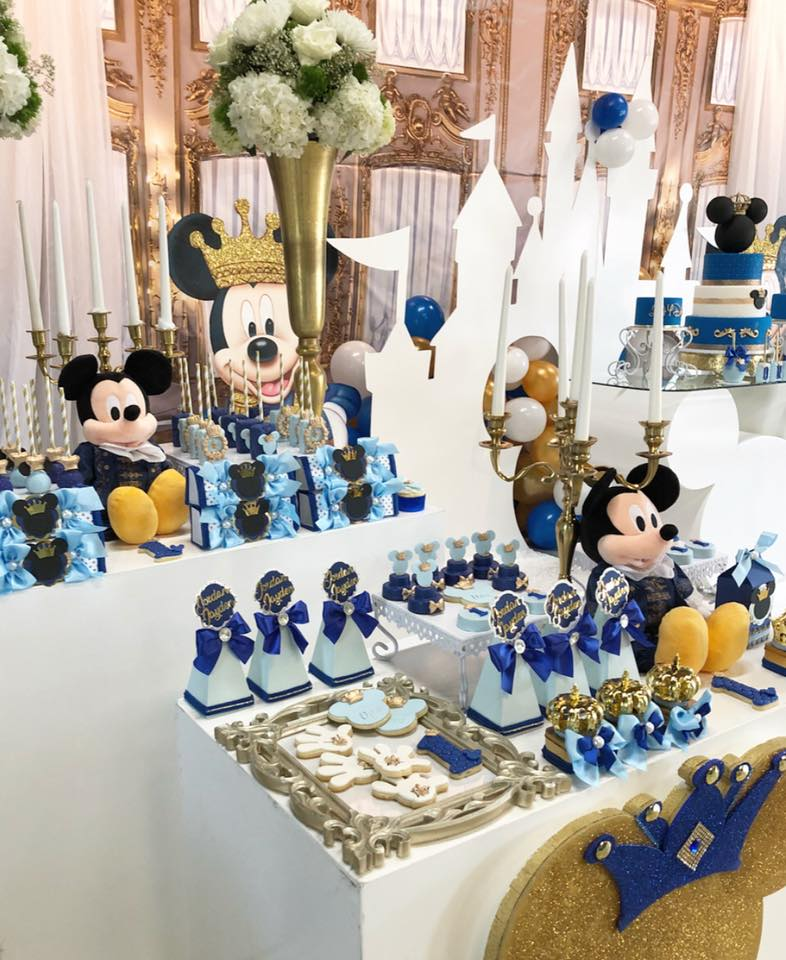 mickey the prince first birthday