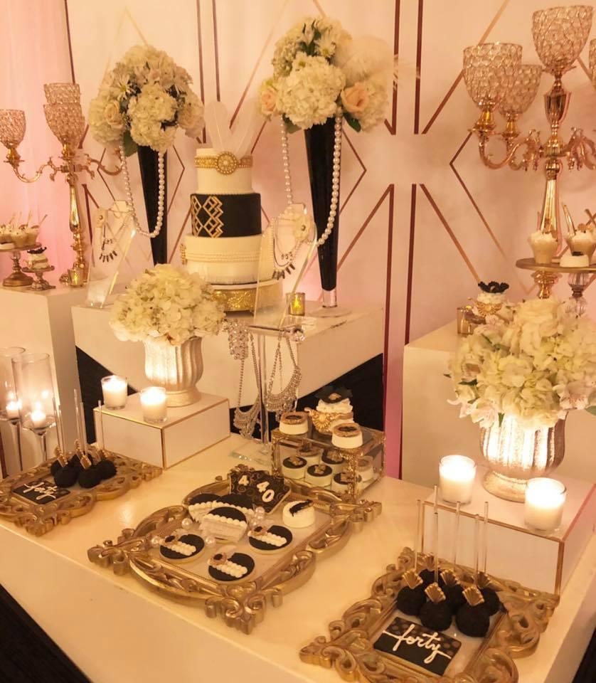 Great Gatsby 40th Birthday Birthday Party Ideas Amp Themes