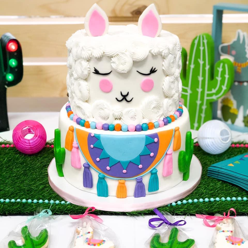 Festive Llama Birthday Party Birthday Party Ideas Amp Themes