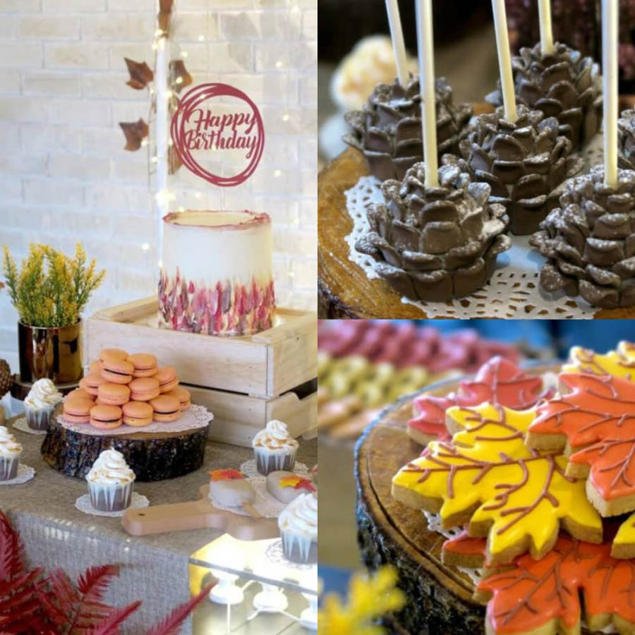 Fantastic Rustic Autumn Themed Birthday Birthday Party Ideas For Kids And Funny Birthday Cards Online Fluifree Goldxyz