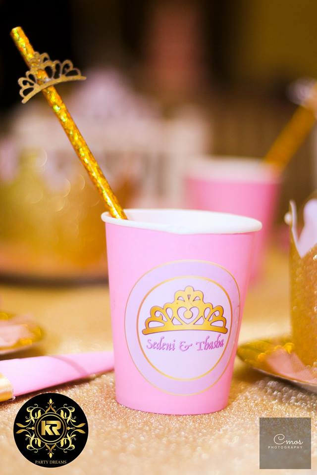 Golden-Princess-Castle-Birthday-Cups