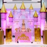 Golden Princess Castle Birthday