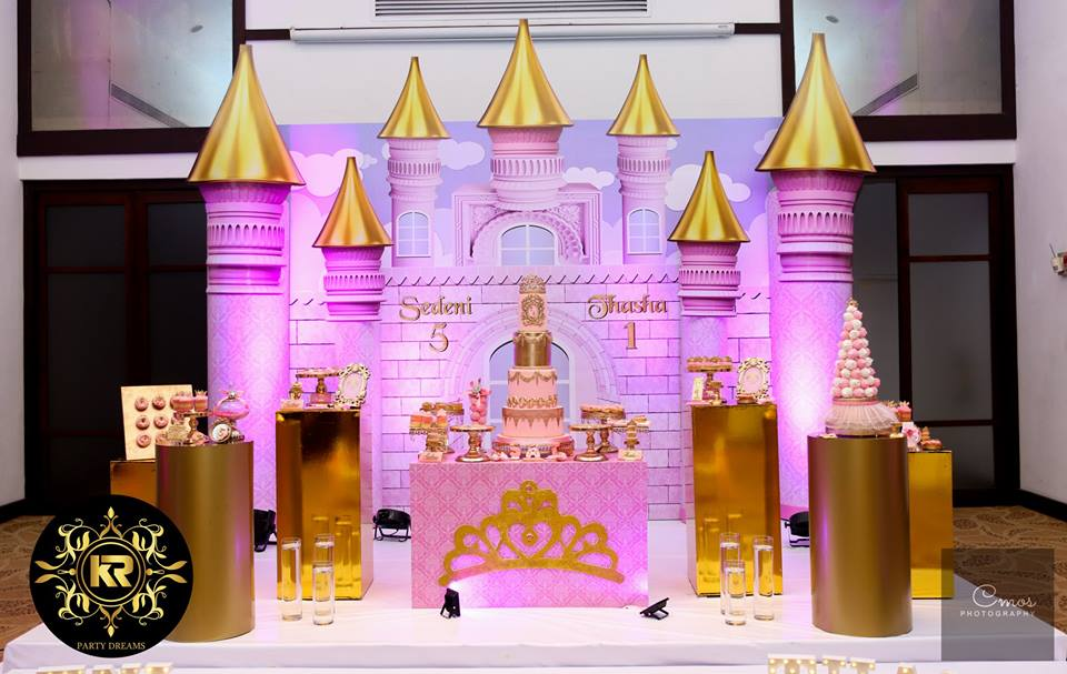Golden-Princess-Castle-Birthday-Pink-Backdrop