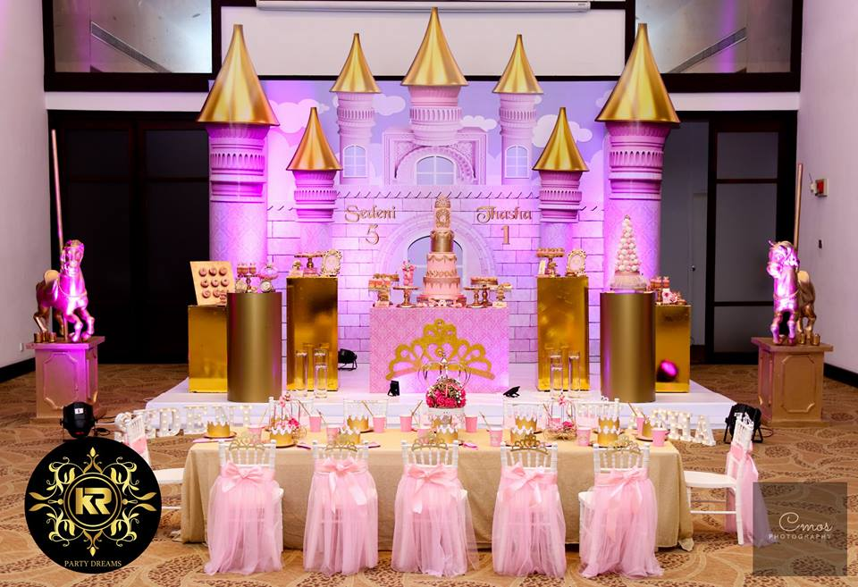 Golden-Princess-Castle-Birthday-Seating