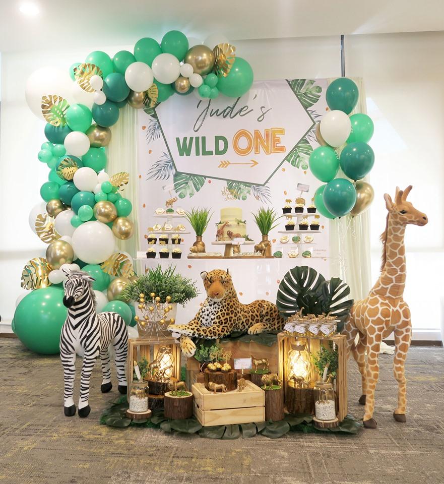 wild one safari birthday