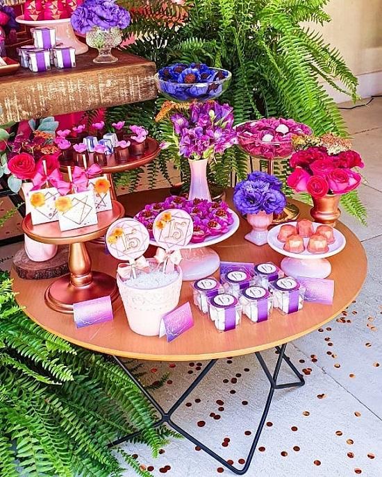 15 cumpleaños decoraciones de fiesta de quinceañera
