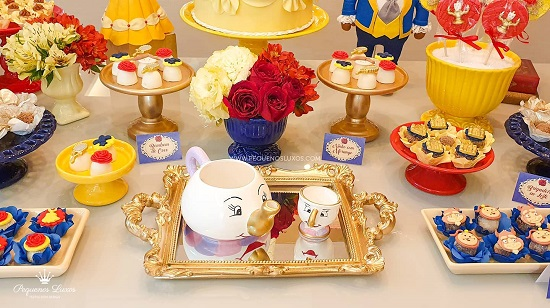 beauty and beast Mrs Potts Chip Tea Pot and Cup decoration