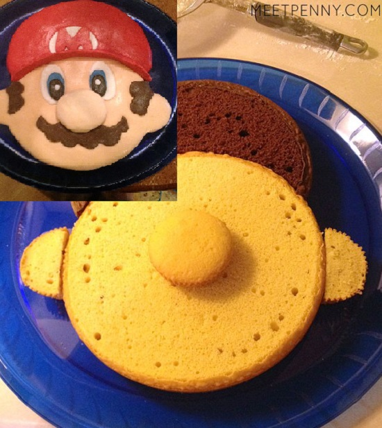 how to make mario cake