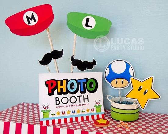 mario photobooth